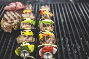 Argentine angus beef loin skewer